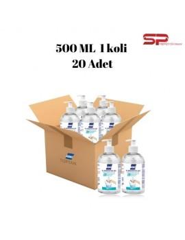 20 ADET 500 ML.Konix Antibakteriyel El ve Cilt Dezanfektan Jel