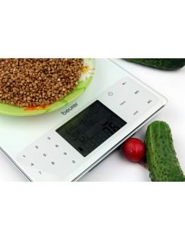Beurer DS 61 950 gıda maddesinin beslenme ve enerji değerleri kayıt eden Mutfak Tartısı Terazisi