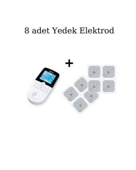 Beurer EM 49 Dijital Tens EMS Masaj Cihazı ve 8'li Set Yedek Elektrodlar