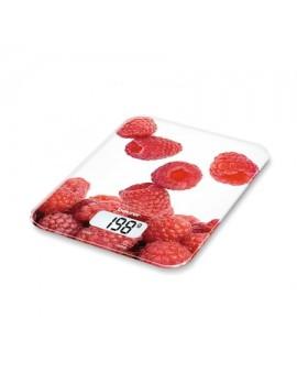 Beurer KS 19 Berry Çilek Desenli Cam Yüzel Mutfak Tartıs 5 Kg